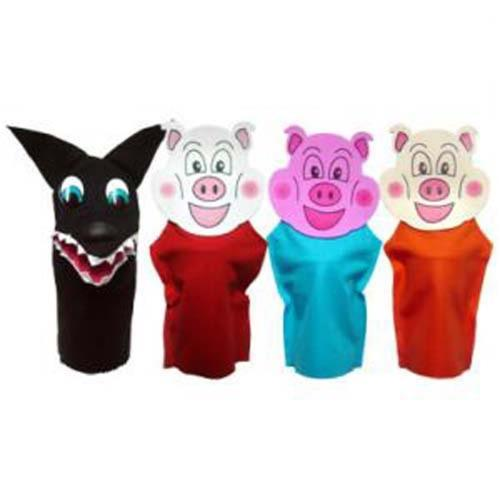 Fantoche Tres Porquinhos Tamasa Psicologia